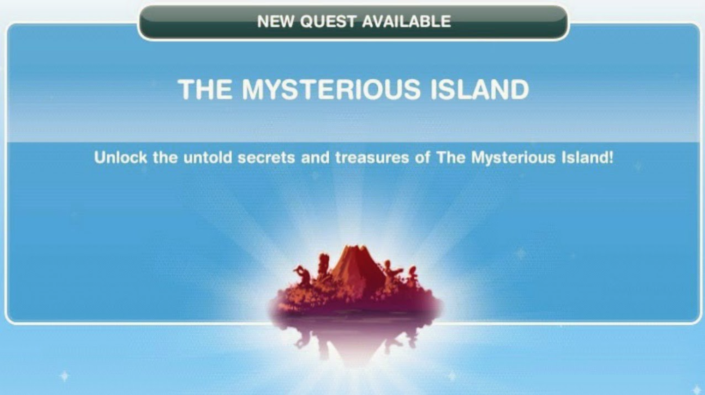 Another Mysterious Product Of >> Simsfreeplay Sims Freeplay Mysterious Island Quest