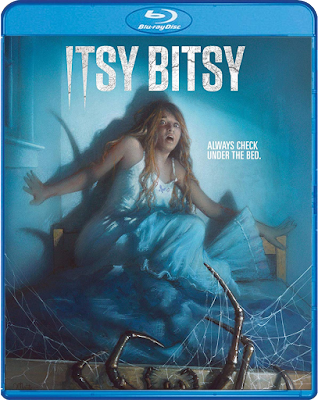 Cover art for Scream Factory's ITSY BITSY Blu-ray!