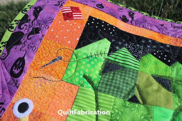 Frankenquilter stitches by QuiltFabrication
