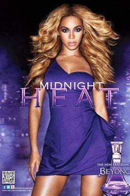 Beyoncé's Midnight Heat Perfume ad