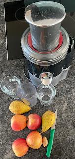 Ustensiles et ingrédients pour réalisation du smoothie