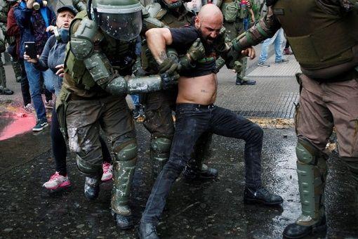 Organización sindical de las Américas condena represión en Chile