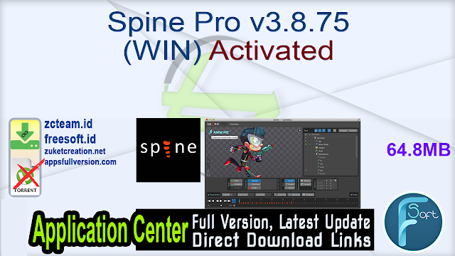 Spine Pro v3.8.75 (WIN) Activated