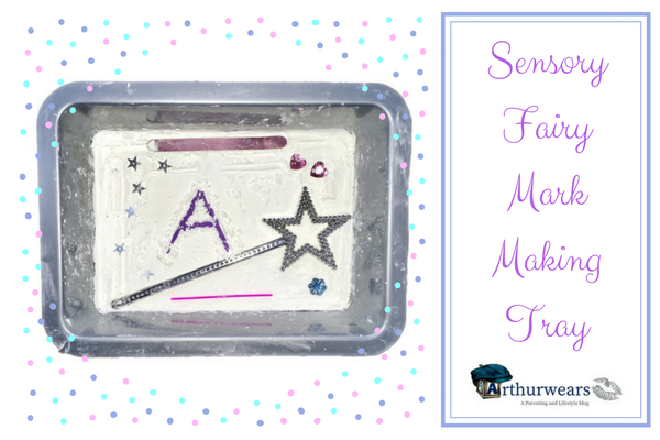 Sensory Fairy Mark Making Tray
