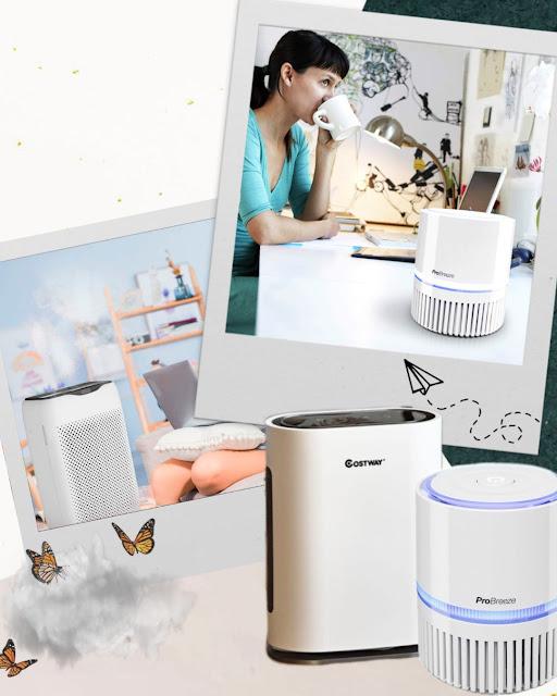 Beneficios purificadores de aire