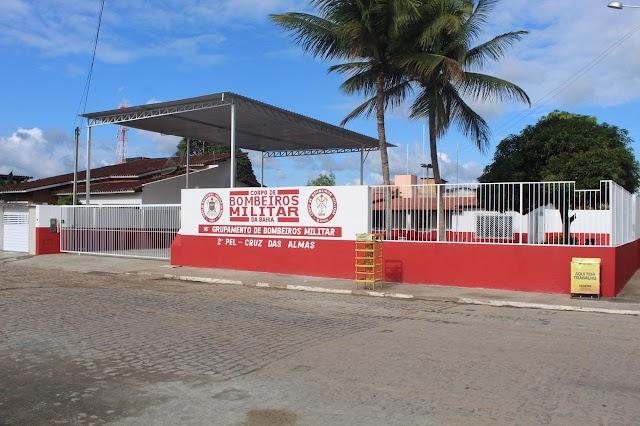 Inauguração da base do Corpo de Bombeiros Militar em Cruz das Almas acontece nesta quinta (05)