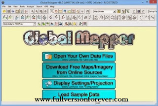 Global Mapper 16 Full Crack Full Version Free Download