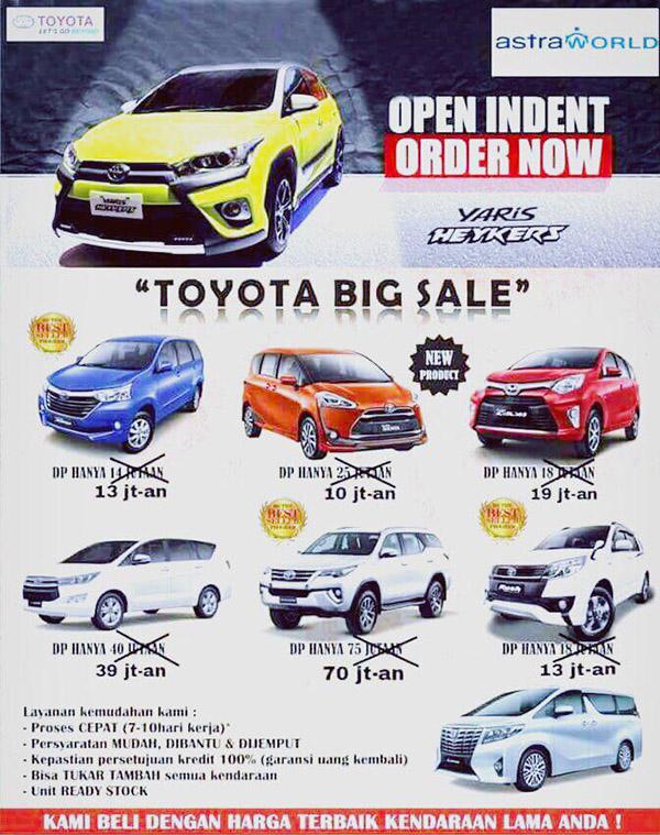 Promo Kredit Toyota BSD Tangerang