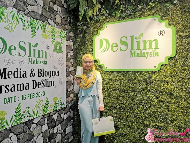 Sesi Media & Blogger bersama DeSlim.