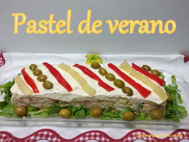 Pastel De Verano