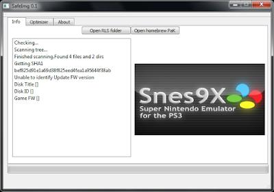 Πως να μειώσετε το μέγεθος των iso του PS3 με το SafeImg 5
