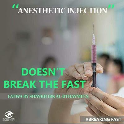 Being given medicine via injection does not break the fast Ummat-e-Nabi.com