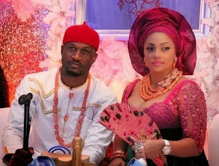 Peter Okoye and wife, Lola