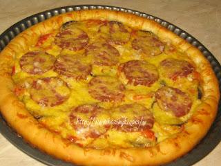 настоящая американская пицца рецепт