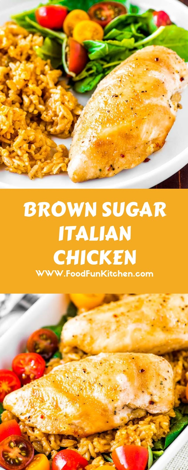 BROWN SUGAR ITALIAN CHICKEN