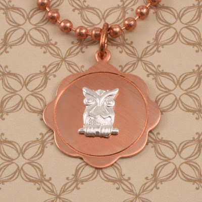 Owl Jewelry Inspiration, Soldering Pendants for Necklaces