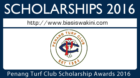 Penang Turf Club Scholarship Awards 2016