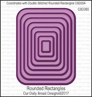 ODBD Custom Rounded Rectangles Dies