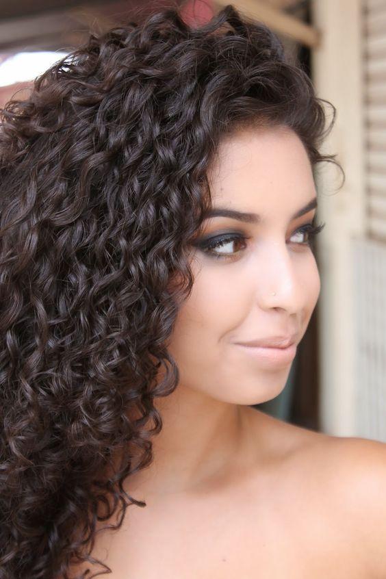 Extremadamente atractivo peinados con rizos Galería De Consejos De Color De Pelo - La moda en tu cabello: Modernos rizos largos - Peinados 2017