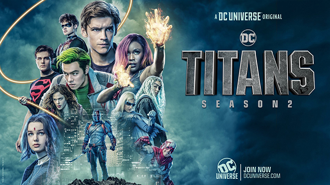 Titanes (2019) Temporada 2 Web-DL 1080p Latino-Ingles