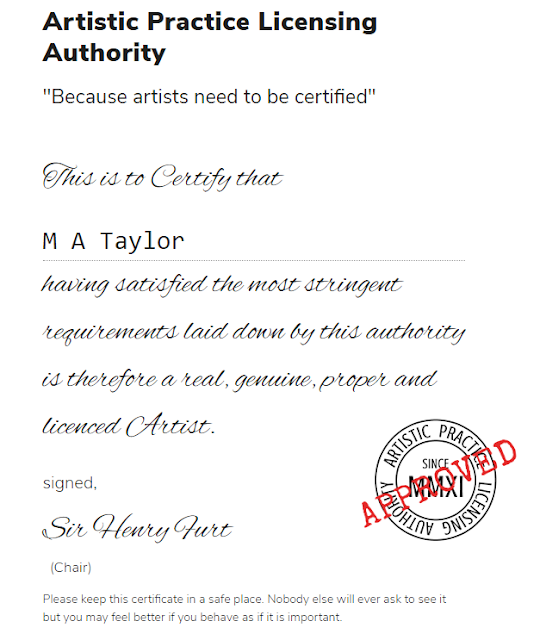 worthless certificates of authenticity