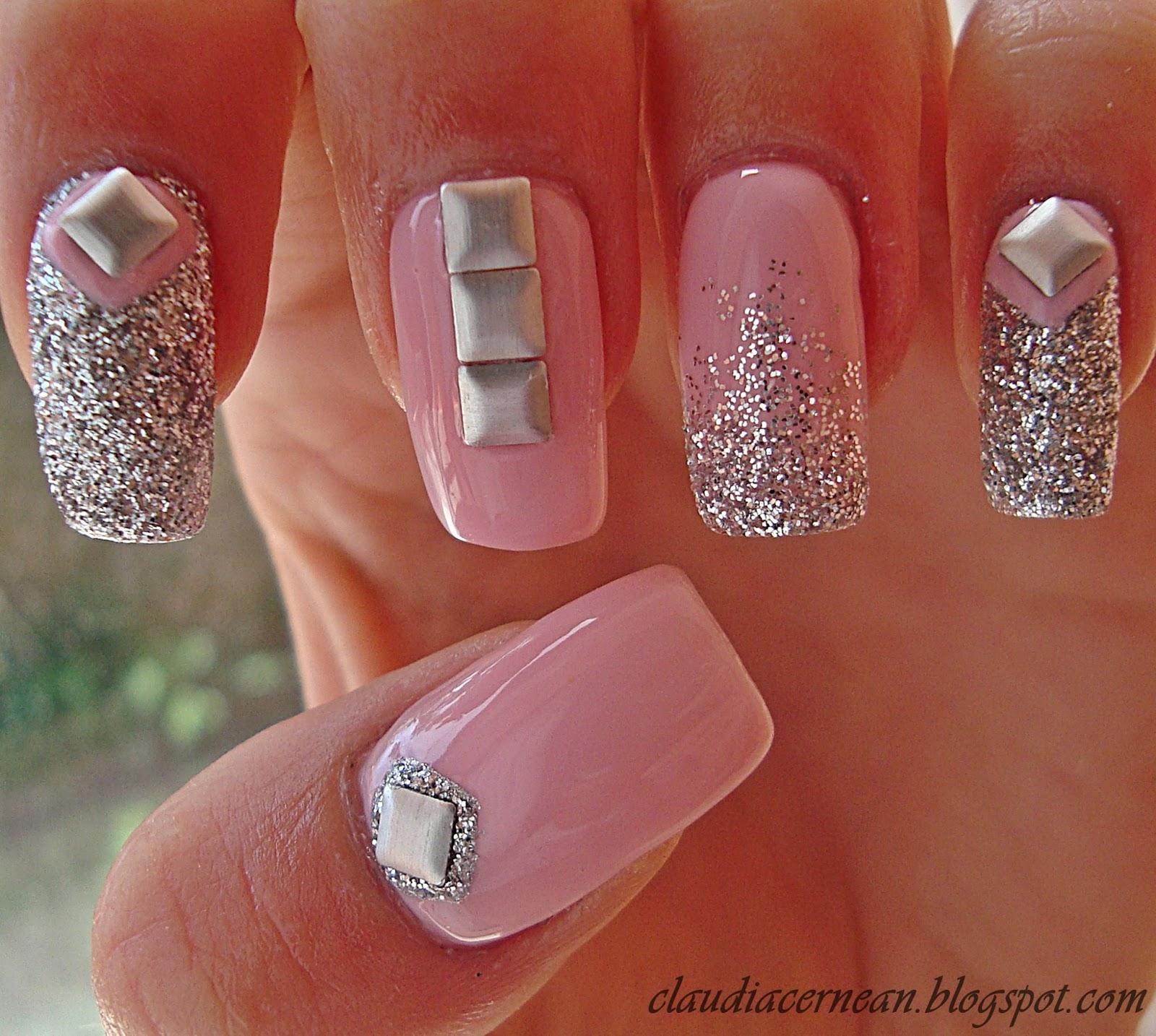 Kkcenterhk Blog Unghii Cu Tinte Studs Nails By Claudiacernean