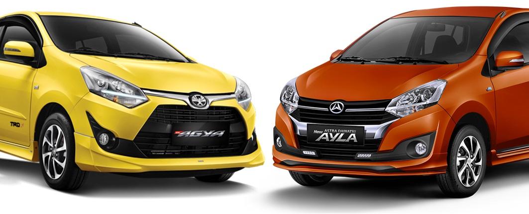 Harga harga mobil ayla toyota terbaru september 2021 online   dapatkan. Pilihan Warna Toyota Agya dan Daihatsu Ayla Facelift 2017 - CaruserMagz.com