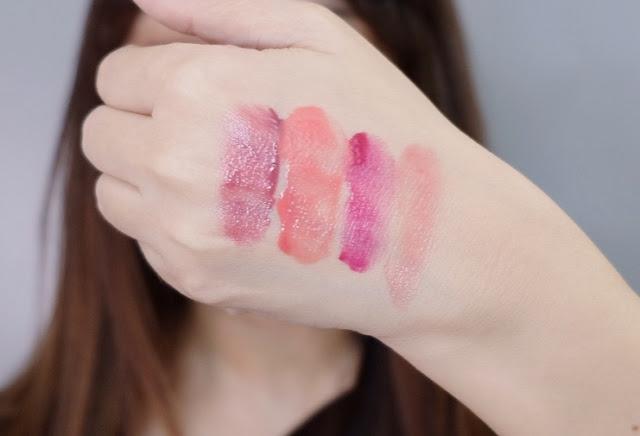 A swatch photo of KVD Beauty MODCON Liquid Gel Blush Review