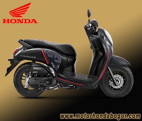 Tempat Kredit Motor Honda Scoopy Bogor