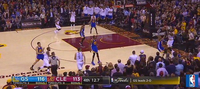 HIGHLIGHTS: Golden State Warriors vs. Cleveland Cavaliers (VIDEO) Game 3 / NBA Finals 2017
