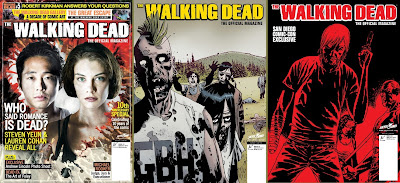 The Walking Dead - The Official Magazine #5, le 3 cover