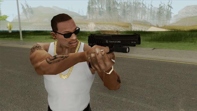 GTA San Andreas Weapon Flash Light Mod