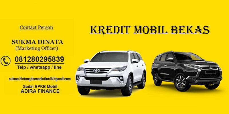 Pembiayaan Kredit Mobil Bekas Gadai Bpkb Mobil Adira Finance