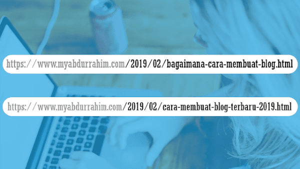 How to change blog post links that are already published
