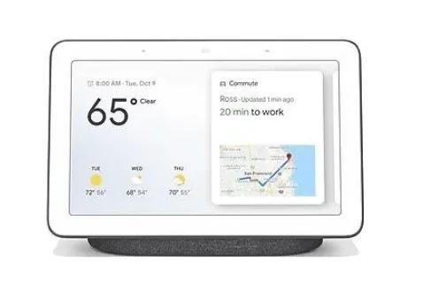 شاشات جوجل المنزل الذكية