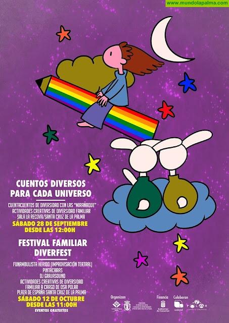 La Concejalía de Igualdad y el colectivo Violetas LGBTI La Palma ponen en marcha el proyecto 'Todas las familias Valen'