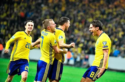 مشاهدة مباراة السويد وجزر فاروه