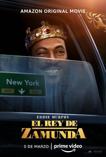 Cartel El Rey de Zamunda
