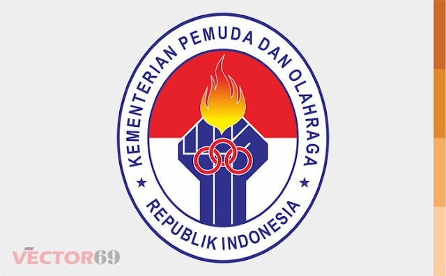 Logo Kemenpora (Kementerian Pemuda dan Olahraga) Indonesia - Download Vector File AI (Adobe Illustrator)