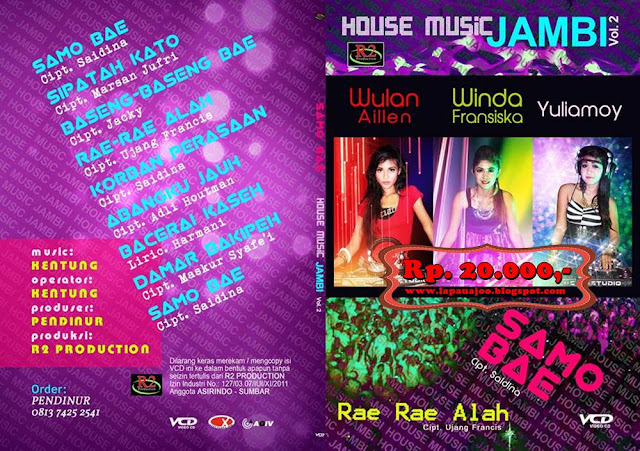 Wulan Aileen, Winda Fransiska & Yuliamoy - Samo Bae (Album House Mucic Jambi Vol 2)
