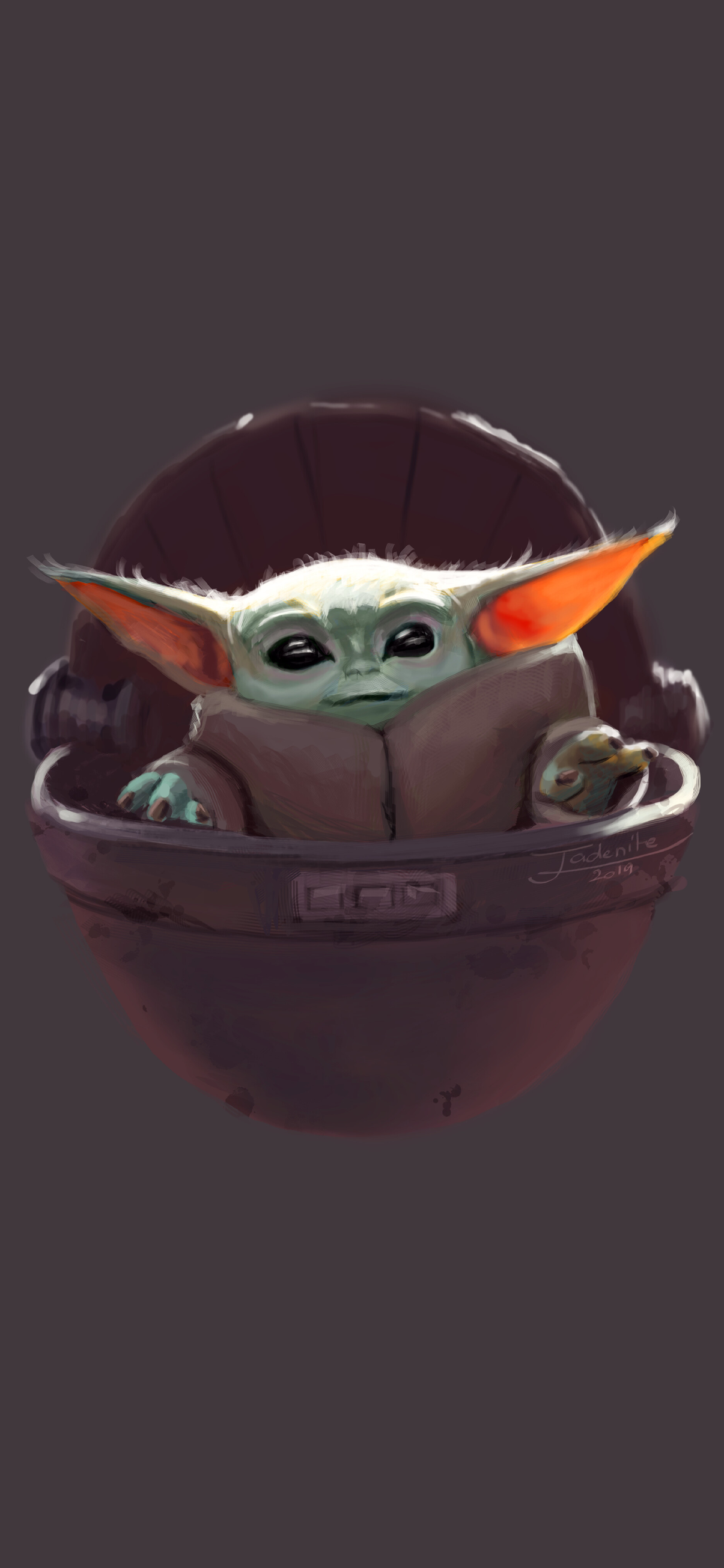 The Child Baby Yoda Background Wallpapers