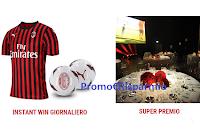 Logo Bioscalin concorso ''Coach per un giorno'': vinci gratis premi autografati A.C. Milan e non solo