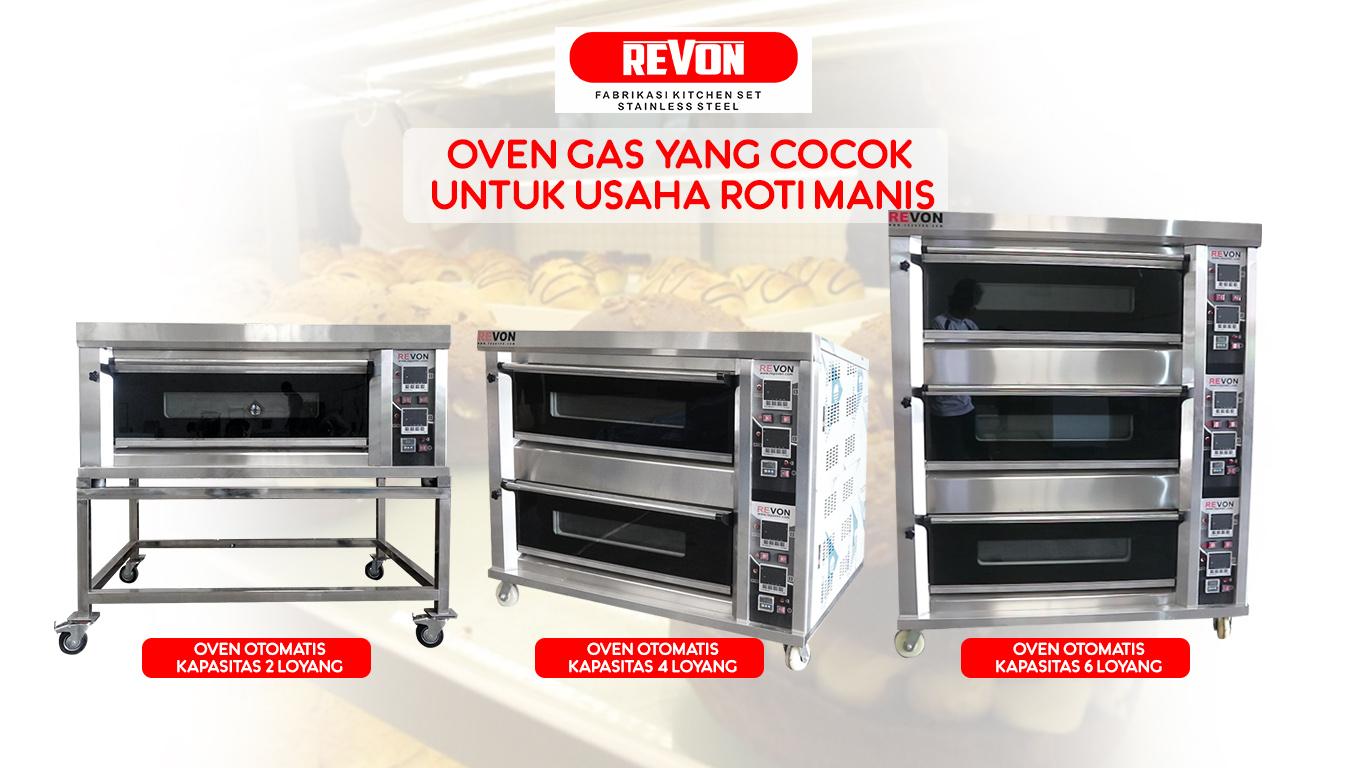 Oven Gas Yang Cocok Untuk Roti Manis