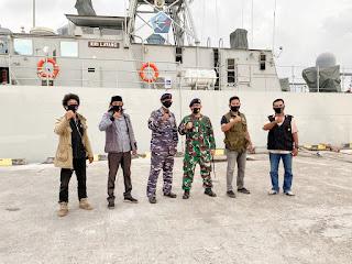 DUKUNG KELANCARAN PILKADA-KRI LAYANG-635 Laksanakan Pengamanan Laut