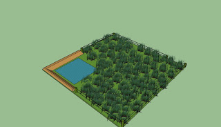Farm pond for agriculture land