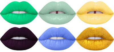 Lime Crime  Velvetines The Original Liquid to matte Lipstick  Unicorn Lipstick Colors Vera Bel