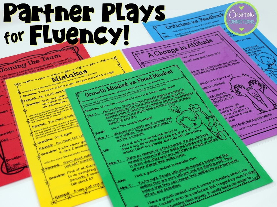 Fluency is said to be the bridge between word recognition and reading comprehension. Learn about my partner play scripts that provide a fun and engaging way to focus on reading fluency. Plus, they feature a reading comprehension component, as well! These scripts are designed to be used in 2nd, 3rd, 4th, and 5th grade reading classrooms.