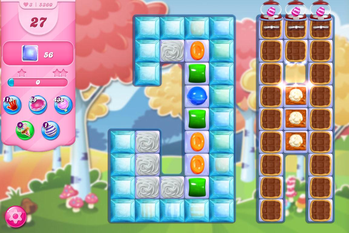 Candy Crush Saga level 5360