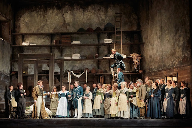 Mozart: Le nozze di Figaro - Royal Opera (C) ROH 2019 photo by Mark Douet
