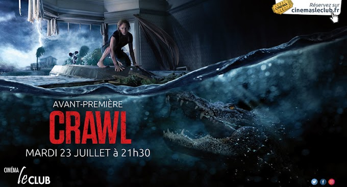 Crawl (2019) | Dual Audio Hindi HD